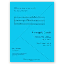 Arcangelo Corelli Trio Sonata a minor