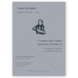 Hoppstock Franz Schubert Vol 4 17 songs after different poets