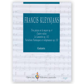 sheetmusic-kleynjans-four-pieces