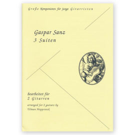 Gaspar Sanz 3 suites for 2 guitars