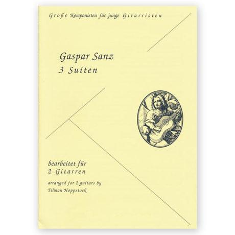 Gaspar Sanz 3 suites for 2 guitars