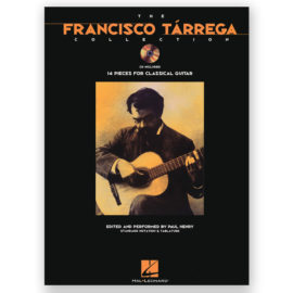 sheetmusic-tarrega-henry-collection-14-pieces