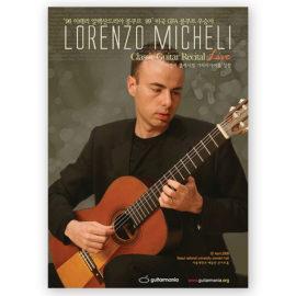 Lorenzo Micheli Recital Live
