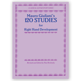Mauro Giuliani Paul Brelinsky 120 Studies for Right Hand Development