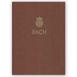 JS Bach urtext barenreiter
