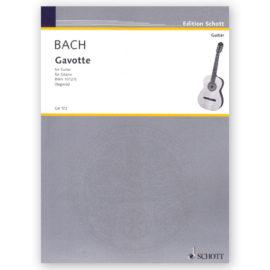 Johann Sebastian Bach Gavotte BWV 1012 Andrés Segovia