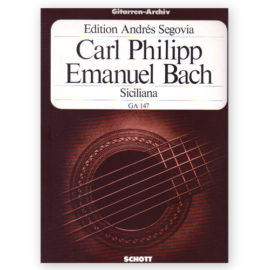 Carl Philipp Emanuel Bach Siciliana