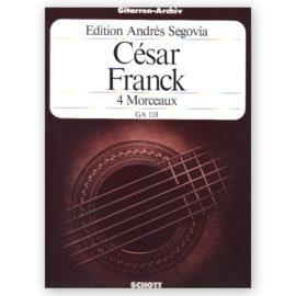 César Franck Andrés Segovia 4 Morceaux