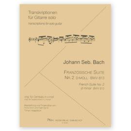Tilman Hoppstock Johann Sebastian Bach French Suite 813
