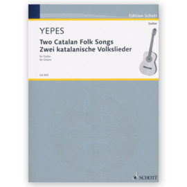 sheetmusic-yepes-two-catalan-folk-songs