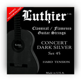 Luthier Dark Silver Set 45 Classical Guitar Strings