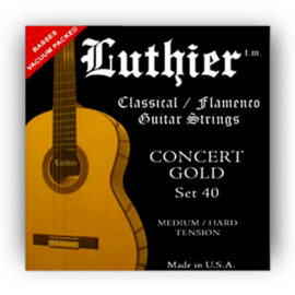 Luthier Gold Set 40 Classical Guitar Strings