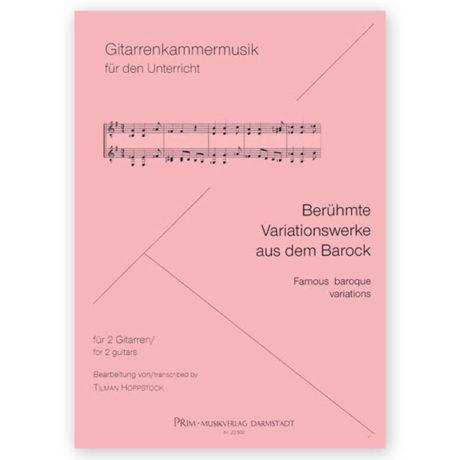 Tilman Hoppstock Famous Baroque Variations