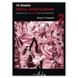 Sergio Arriagada 10 Études Latino Américaines Volume 2