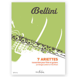 Vicenzo Bellini 7 Ariettes