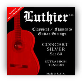 Luthier Silver Set 60 Classical Guitar Strings