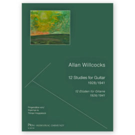 Hoppstock Allan Willcocks 12 Studies for Guitar