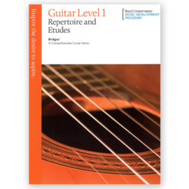 The Royal Conservatory Bridges Guitar Repertoire Etudes 1