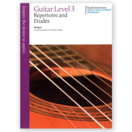 Royal Conservatory Bridges Guitar Repertoire Etudes 3