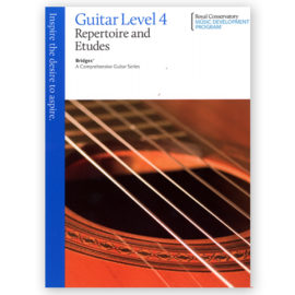 Royal Conservatory Bridges Guitar Repertoire Etudes 4