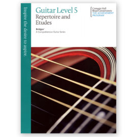 Royal Conservatory Bridges Guitar Repertoire Etudes 5