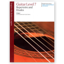 Royal Conservatory Bridges Guitar Repertoire Etudes 7