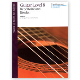 Royal Conservatory Bridges Guitar Repertoire Etudes 8