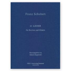 Tilman Hoppstock Franz Schubert 61 lieder songs