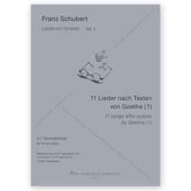 Hoppstock Franz Schubert Vol 2 11 Songs Goethe