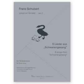 Hoppstock Franz Schubert Volume 5 6 songs