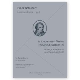 Hoppstock Franz Schubert Vol 8 14 Songs Different Poets