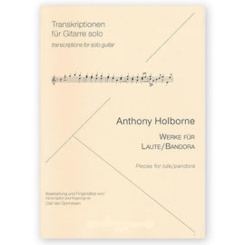 Anthony Holborne Pieces Lute