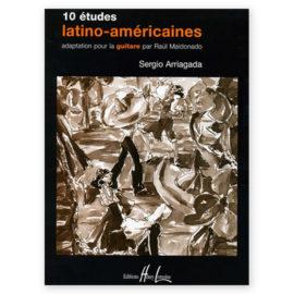 Sergio Arriagada 10 Études Latino Américaines Volume 1