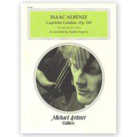 Isaac Albéniz MIchael Lorimer Capricho Catalán 165