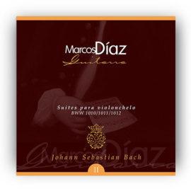 Marcos Díaz Bach Suites para Violonchelo