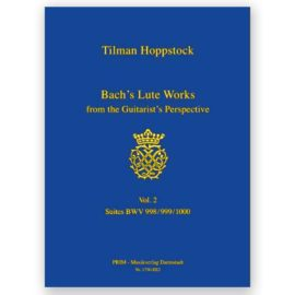 Tilman Hoppstock Bach's Lute Works Vol. 2