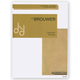 sheetmusic-brouwer-canciones-remotas