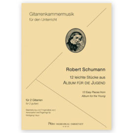 Robert Schumann 12 Easy Pieces Album for the Young