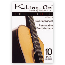 Kling-on fret dots 10pieces