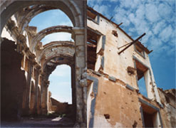Spain, belchite