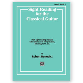 Robert Benedict Sight Reading Classical Guitar
