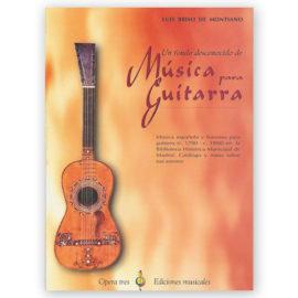 Luis Briso de Montiano Fondo Desconocido Música Guitarra