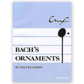 Emery, Walter. Bach's Ornaments