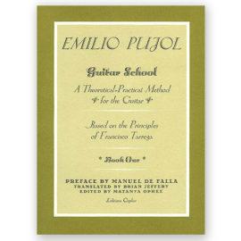 Emilio Pujol Guitar School Book One