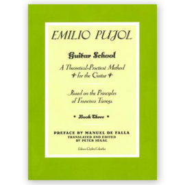 Emilio Pujol Guitar School Book Three