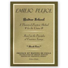 Emilio Pujol Guitar School Book Two