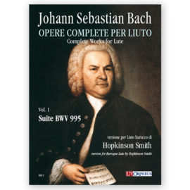 Hopkinson Smith Bach Lute 995