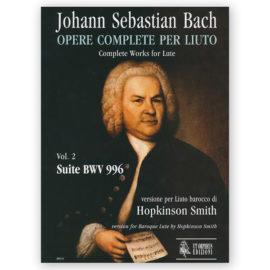 Hopkinson Smith Bach Lute 996