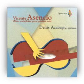 Azabagic Vicente Asencio Obras Completas Guitarra Sola