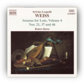 Barto Weiss Sonatas for Lute Volume 4